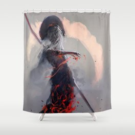 Sathra's Will Shower Curtain