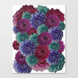 flowers pattern 2 Canvas Print