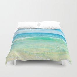Ocean Blue Beach Dreams Duvet Cover