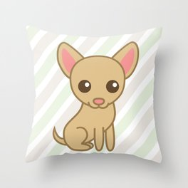 Pinky the Chihuahua  Throw Pillow