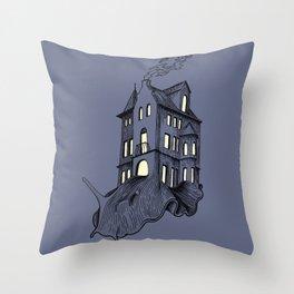 Heavy Burden Throw Pillow