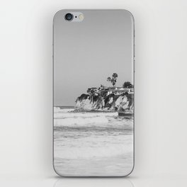 Wavy San Diego Beach Panorama iPhone Skin