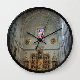 Almudena Cathedral, Madrid Wall Clock