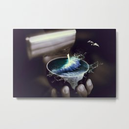 theine Metal Print