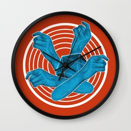 Time gives you knowledge Wall Clock