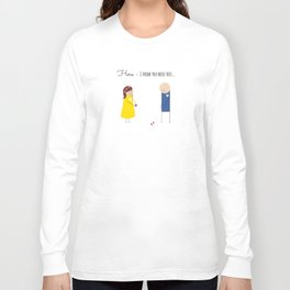 Here - I think you need this... Long Sleeve T-shirt
