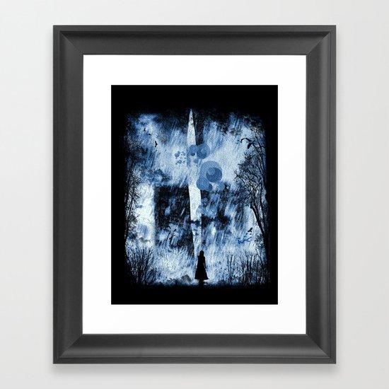 rain walker redux Framed Art Print