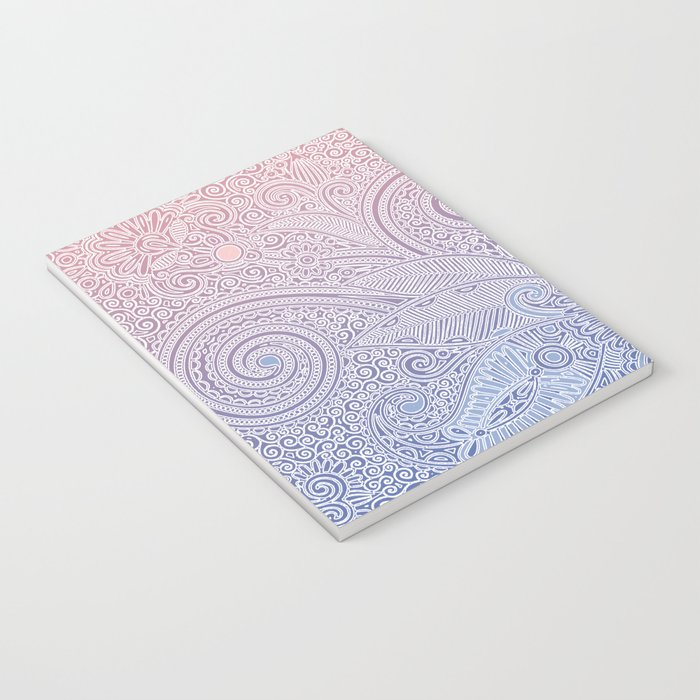 Delicate Pattern Notebook