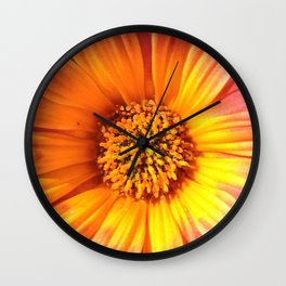 A March 1st Colorburst Wall Clock