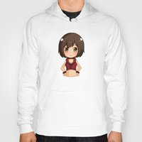 vocaloid Hoodies featuring Meiko by Nozubozu