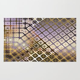Place 2B Pattern (Lush Gold) Rug