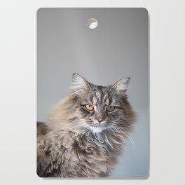 Royal Tom cat : Look into my eyes Cutting Board