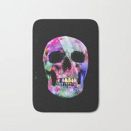 Black Skull Bath Mat