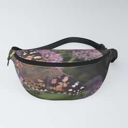 Painted Lady Butterfly Fanny Pack