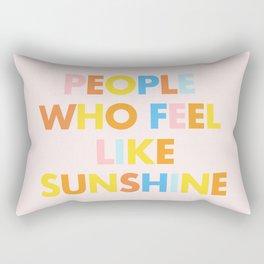 Sunshine People Rectangular Pillow