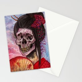 Hone-Onna Stationery Cards