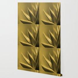 Succulent Plant In Golden Glow #decor #society6 #homedecor #buyart Wallpaper