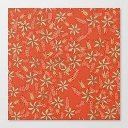 Autumn floral 2 Canvas Print