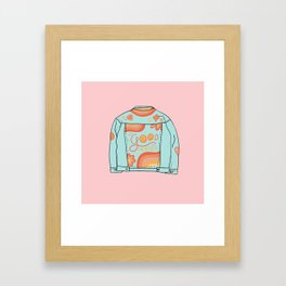 Be Good to Eachother Framed Art Print