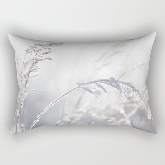 winter Pastel Rectangular Pillow