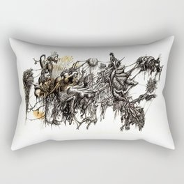Vile Cosmos (of which we are part) by Brian Benson Rectangular Pillow
