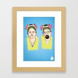 Breaking Bad - Jess & Walt Framed Art Print