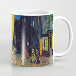 Vincent Van Gogh - Cafe Terrace at Night (new color edit) Coffee Mug