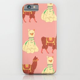 lhama iPhone Case