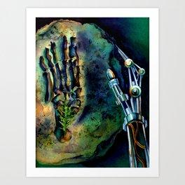 Past, Present, Future  Art Print