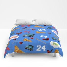 Stilinski Love Pattern Comforters