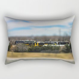Train by Monique Ortman Rectangular Pillow