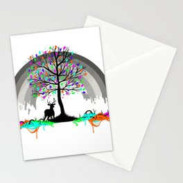 Colorless Raimbow Stationery Cards
