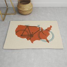 Bike America Rug