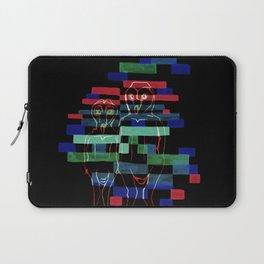 Glitching Owls Laptop Sleeve