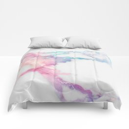 Unicorn Vein Marble Comforters