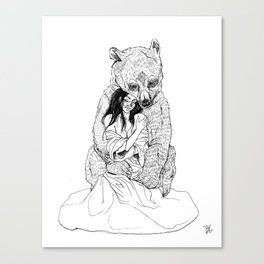 Guarded Canvas Print