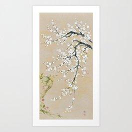 Ume flower painting,korean painting Art Print