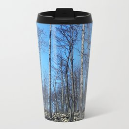 WHEN A FIRE ATTACKS Travel Mug