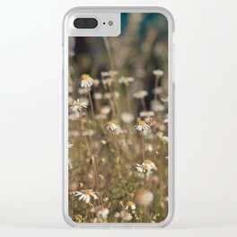Field of Daisies - Floral Photography #Society6 Clear iPhone Case