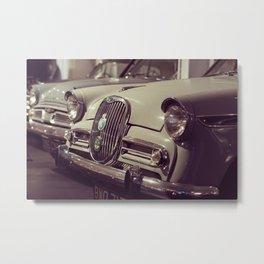 1966 Car Showroom Metal Print