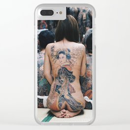 Wabori #1 Clear iPhone Case