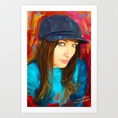 Colourful Vibes Art Print