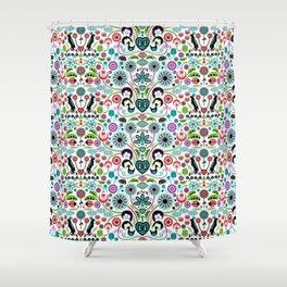 Scandinavian Inspiration (White) Shower Curtain