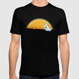 Arctic Fox Stumbles Upon A Meteorite T-shirt