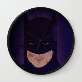 Bat Man returns Michael Keaton Wall Clock