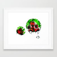 metroid Framed Art Prints featuring Metroid by CJ Draden