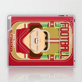 American Football Red and Gold - Hail-Mary Blitzsacker - June version Laptop & iPad Skin