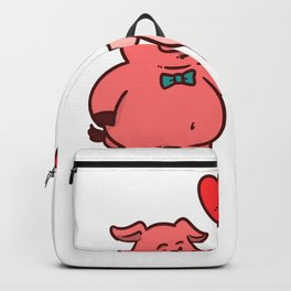 Valentine's Day Love Gift Flowers 14 February Backpack