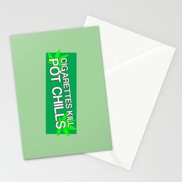 Pot Chills Stationery Cards
