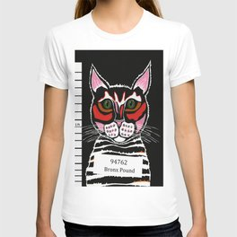 Cat Mug Shot T-shirt